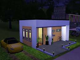 nice sims 3 small modern house best house design