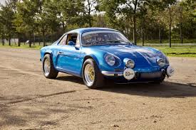 renault alpine renault alpine a110 1977 french blue renault collection vsoc