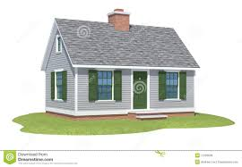 cape cod house cape cod house rendering royalty free stock image image 12103096