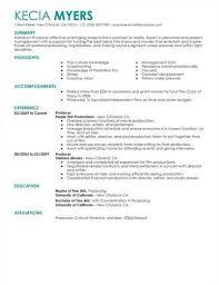 industry resume resume sle media templates sle resume for