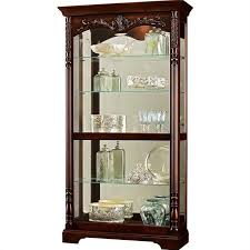 cherry curio cabinets cheap seldens home furnishings howard miller felicia curio cabinet in