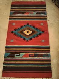 Red Turquoise Rug Rugs For New House Collection On Ebay