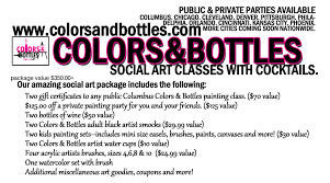 Pittsburgh Gift Baskets C U0026b Artist Gift Basket Colorsandbottles