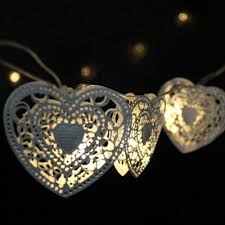 String Christmas Tree Lights by Led Heart Shaped Christmas Tree Light Bulb Battery Operated Party