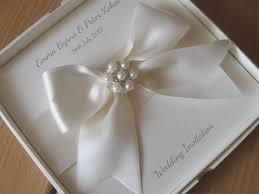 Expensive Wedding Invitations Boxed Wedding Invitation Satin Ribbon U0026 Embellishment Wallet