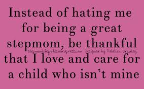 Step Parent Meme - be thankful that you have extra support for your child be thankful