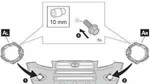 how to add foglights using oem wiring on the rav4 3 toyota rav4