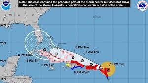 map usa bermuda hurricane irma slams into barbuda landfall in u s depends on