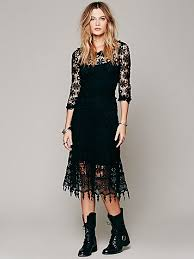 people daisy chemical lace dress at free people clothing boutique
