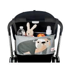 cartoon sports car side view amazon com 3 sprouts stroller organizer elephant baby