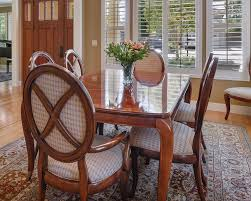 thomasville mahogany dining set bogart collection ebay