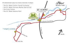 St Albert Botanical Gardens Botanical Loop City Of St Albert