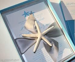 starfish wedding invitations starfish boxed wedding invitations custom save the dates unique