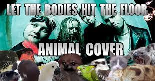 Let The Bodies Hit The Floor Meme - let the bodies hit the floor animal cover 9gag
