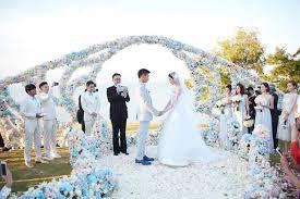 wedding dress di bali liu shishi actor nicky wu at resort and
