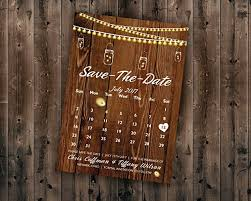 affordable save the dates calendar country save the date card printed cheap