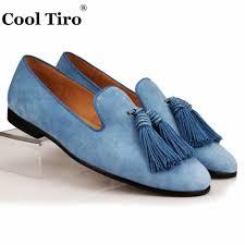 Brauntone Wohnung Elegantes Beispiel Indien Online Kaufen Großhandel Italienische Wildleder Loafers Aus China