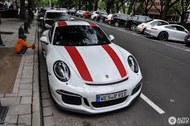 porsche red 2017 2017 porsche 911 r spotted in düsseldorf german owner went for