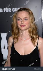 ford commercial actress actress heather graham rodeo drive walk stock photo 99055661