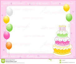 candles birthday invitation card royalty free stock image image
