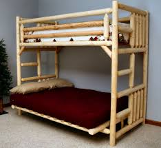 wooden futon bunk bed home design ideas