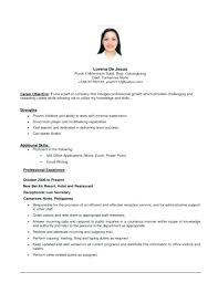 sample entry level customer service resume sample entry level