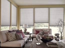 what s the best window treatment for living rooms ndb blog honeycomb shades in living room