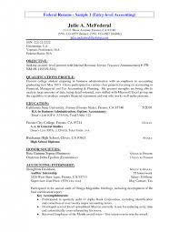 cover letter accounting objectives resume accounting student