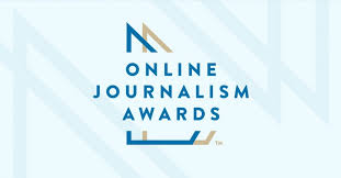 online journalism master s degree 2017 online journalism awards finalists announced online news