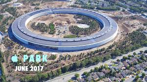 apple park june 2017 looking through open doors
