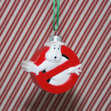ghostbusters no ghost logo ornament by regeekery on etsy