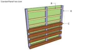 How To Build A Vertical Garden - vertical garden plans free garden plans how to build garden
