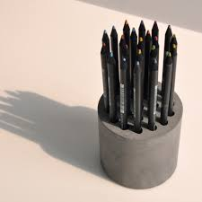 Pencil Vase Concrete Pencil Vase Moco Loco Submissions