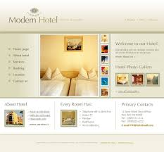 website template 11200 modern hotel complex custom website