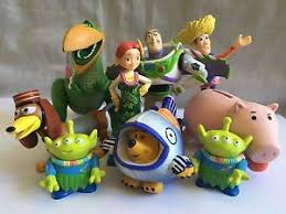 free 9 toy story mini figures cake toppers buzz woody