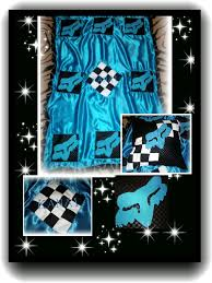 Race Car Crib Bedding Set by Fox Racing Baby Pillow And Blanket Set By Twistedcreationsbyan