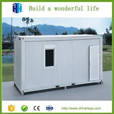 prefabricated living 20ft container house plan price quality