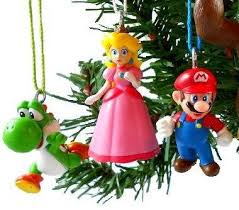 mario brothers ornaments figurines