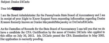 Passed Cpa Exam Resume Nj Committeewoman Accused Of Lying About Her