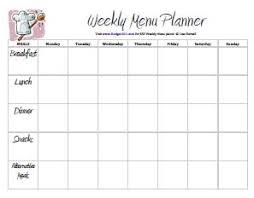 printable meal planner free free printable menu planners meal planning meal plan budget101 com