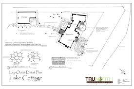 Landscape Floor Plan by Landscape Design Construction Processes