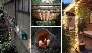 Landscape Lighting Diy Top 28 Ideas Adding Diy Backyard Lighting For Summer Nights