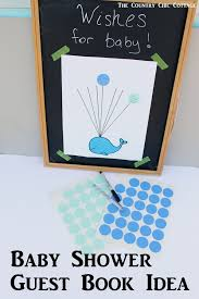 guest sign in books baby shower guest book idea whale free printable and nursery