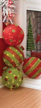 large christmas best 25 large outdoor christmas decorations ideas on
