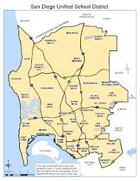 Maps San Diego by Do I Live Within San Diego Unified District San Diego