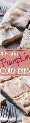 light pumpkin dessert recipes no bake pumpkin cloud bars recipe pumpkins bar recipes and desserts