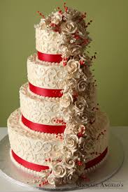 brilliant red ribbon wedding cake price list and delicious ideas