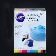 12 colors america wilton food coloring fondant cake cream pigment
