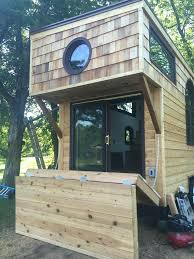Tiny House Deck by Fold Up Deck For Easy Tiny House Transportation Picture Only