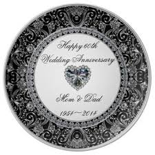 60th wedding anniversary plate 28 best 60th anniversary gifts images on 60th